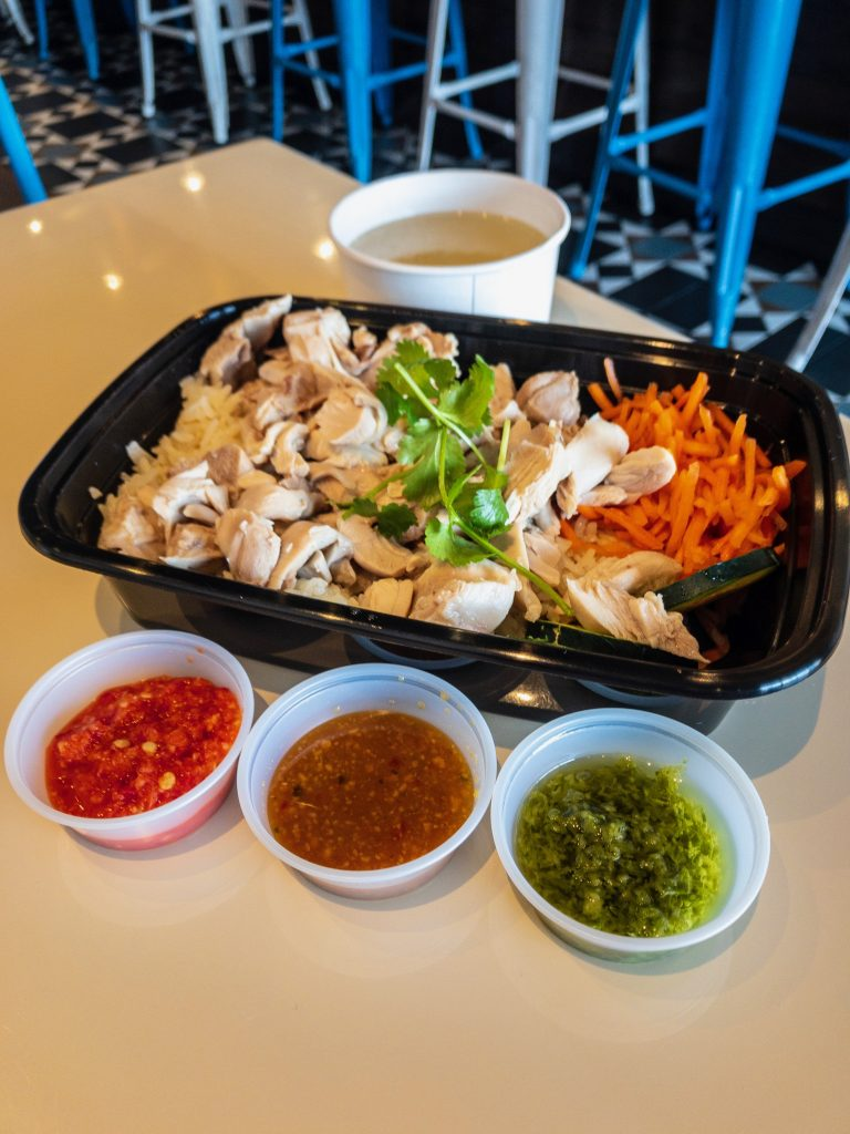 Chicken Meets Rice Bowl