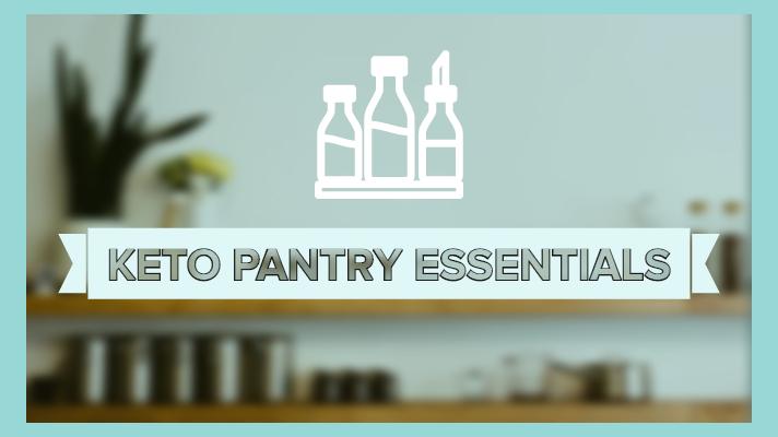 keto pantry items